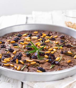 castagnaccio (Gâteau aux châtaignes)