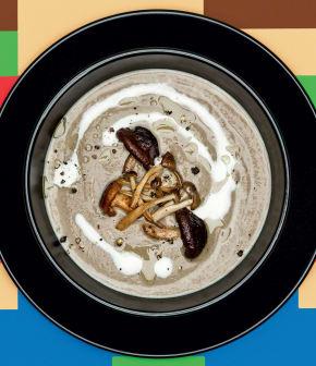 potage aux champignons « Super Mario »