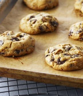biscuits classiques aux pépites de chocolat