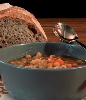 soupe aux pois classique