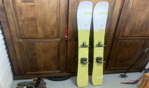 Ensemble (Skis, fixations, freins, peaux et crampons) ski de Touring G3 Seekr100 178 cm en carbone à