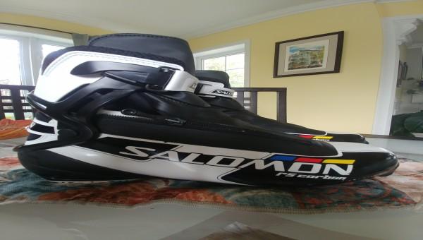 Bottes de ski de fond patin Salomon RS Carbon