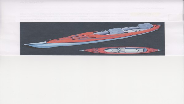 kayak ''ADVANCED ELEMENTS ''gonflabe  2 places ... a vendre...