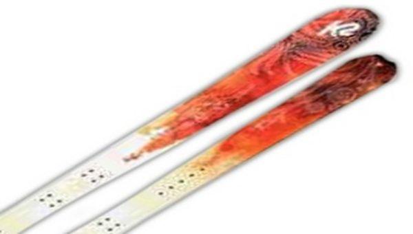 Ski de télémark - Schi Devil K2 (femme) & fixation G3 Targa.