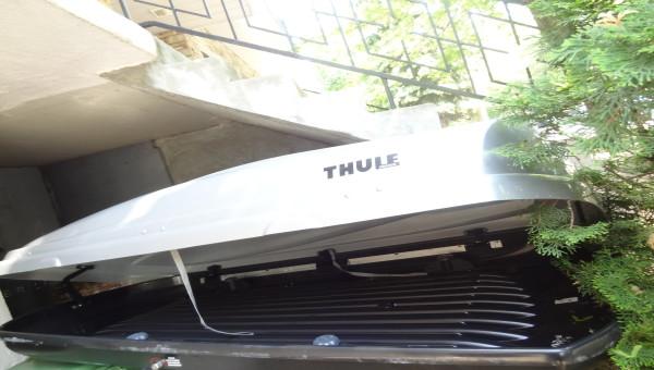 A VENDRE : THULE ATLANTIS 1600 + BARRES DE SUPPORT + SYSTÈME DE VERROUILLAGE