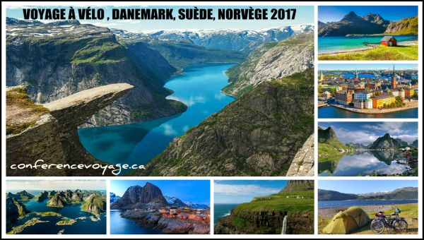 CYCLOTOURISME EN SCANDINAVIE 2017