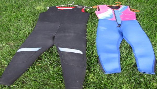 2 wet suit