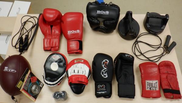 Boxe Équipement Complet