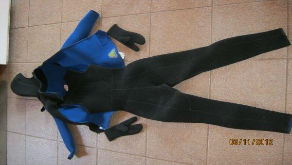 Wetsuit de plongée pour femme