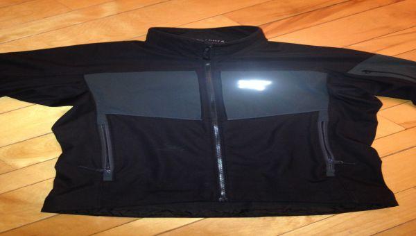 Manteau Arc'Teryx en softshell, modèle Gamma MX, Homme, Noir, Grandeur Medium.