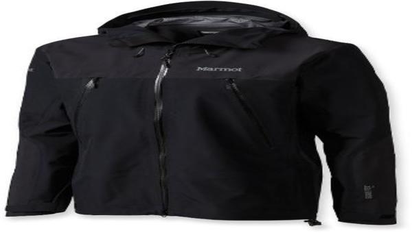MARMOT Troll Wall Jacket - GORE TEX Pro - Noir - Homme
