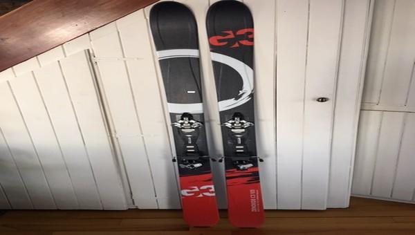 Ski randonnée et peau G3  Zenoxide C3 105 + fixation Dynafit