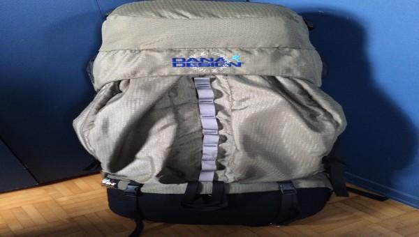 Sac à dos Dana Design Terraplane 95 L taille medium et couvre sac