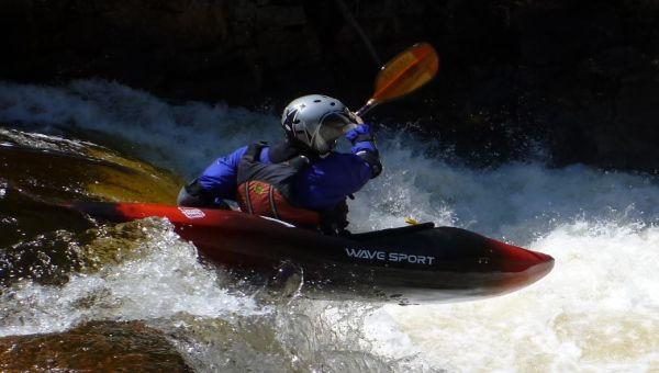 Kayak de rivière Wavesport Habitat 80