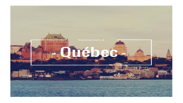 Conférence à Québec