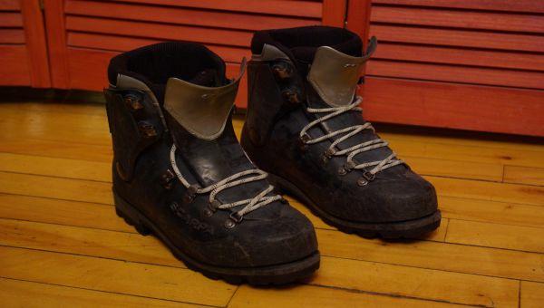 Bottes escalade de glace scarpa inverno