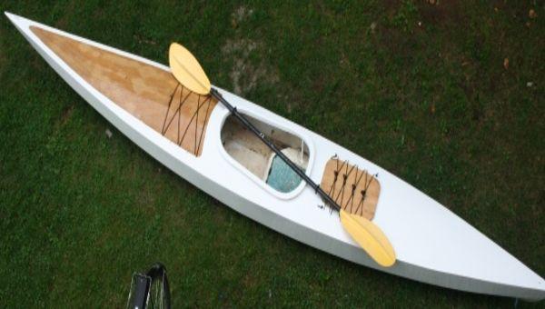 Kayak de mer en bois 14'
