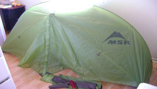 Tente 1 place ultra légerte MSR Hubba