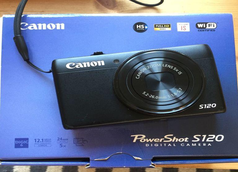 Appareil photo Canon S120  -  Recherché