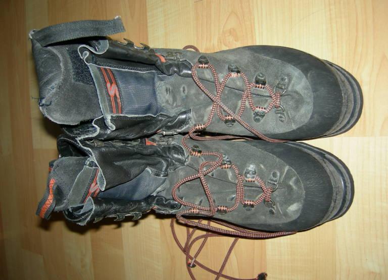 chaussures de haute montagne