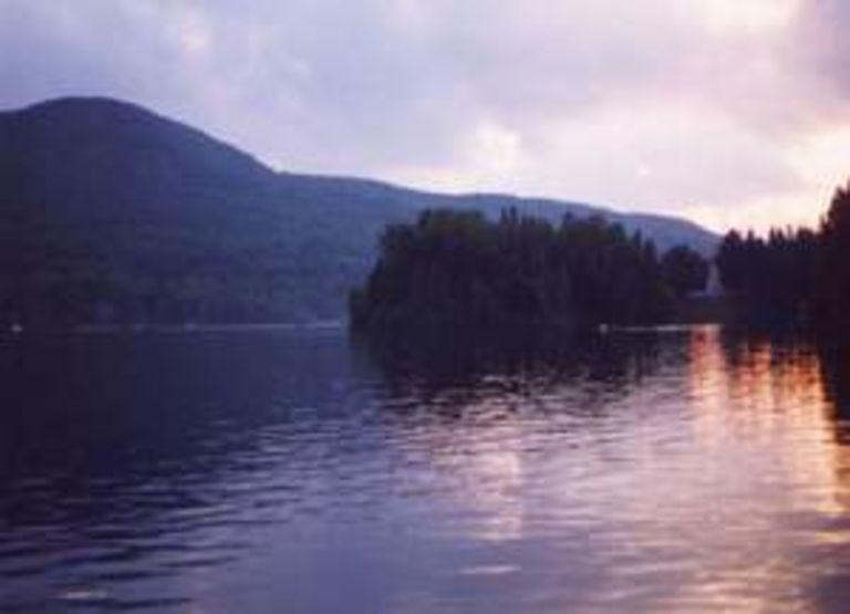 Chalet à  louer au lac Ouareau