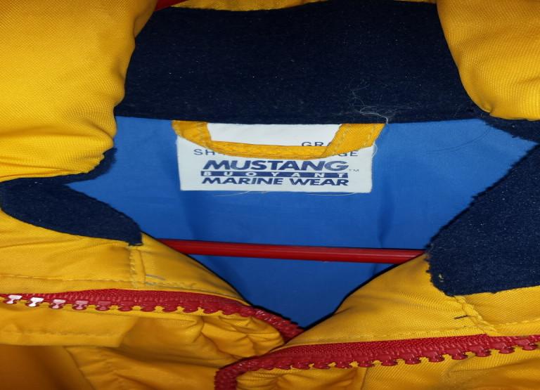 Combinaison de flottaison MUSTANG - pour les sports nautiques