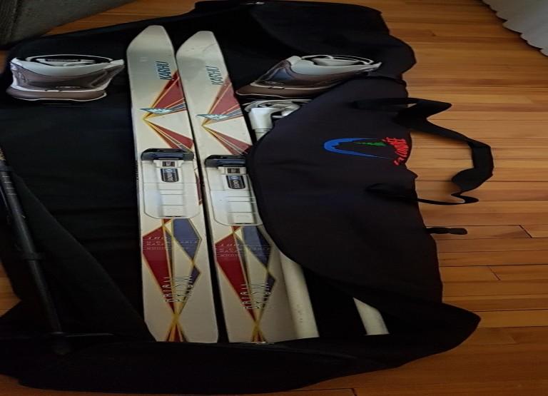 FEMME ensemble de ski de fonds complet à vendre