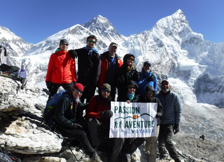 Trek vers le Camp de Base de l'Everest