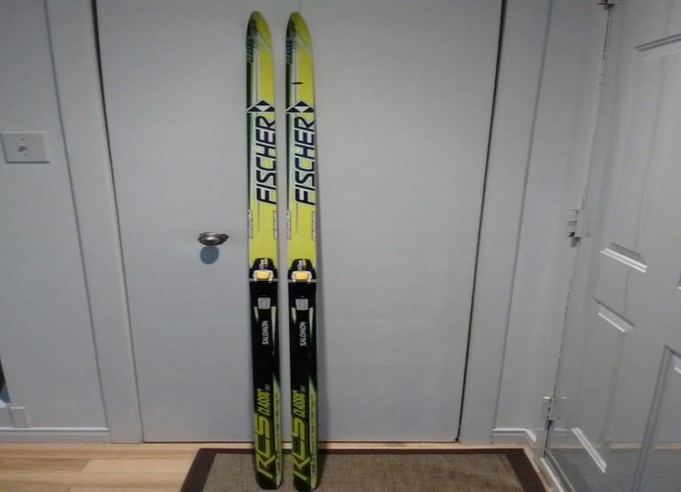Skis de fond Fischer RCS classic 187cm à vendre
