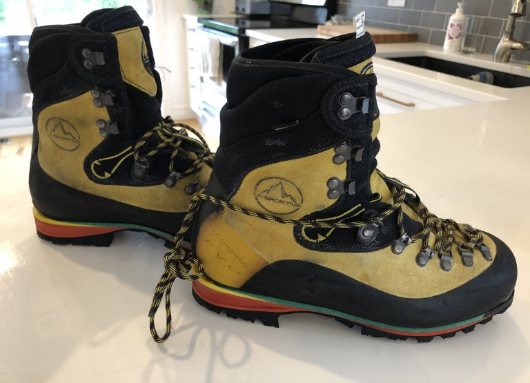 42 Climbing and hiking boots, La Sportiva Nepal Evo GTX