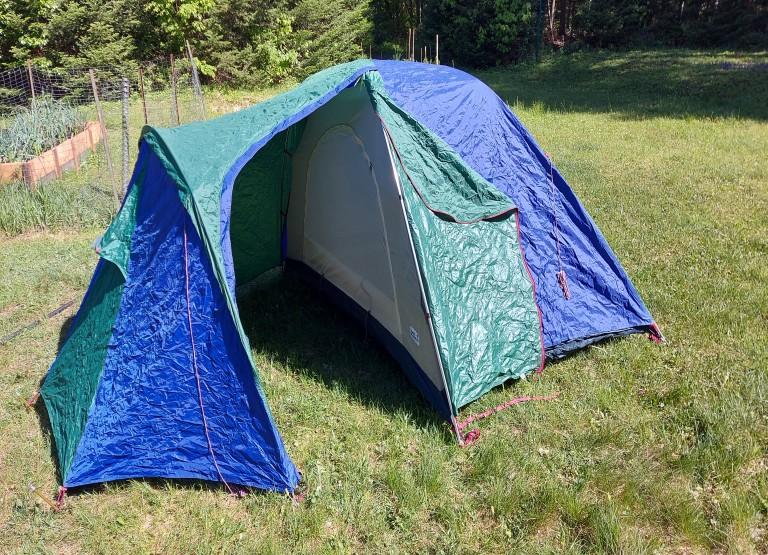 Tente Jackwolfskin 2 places