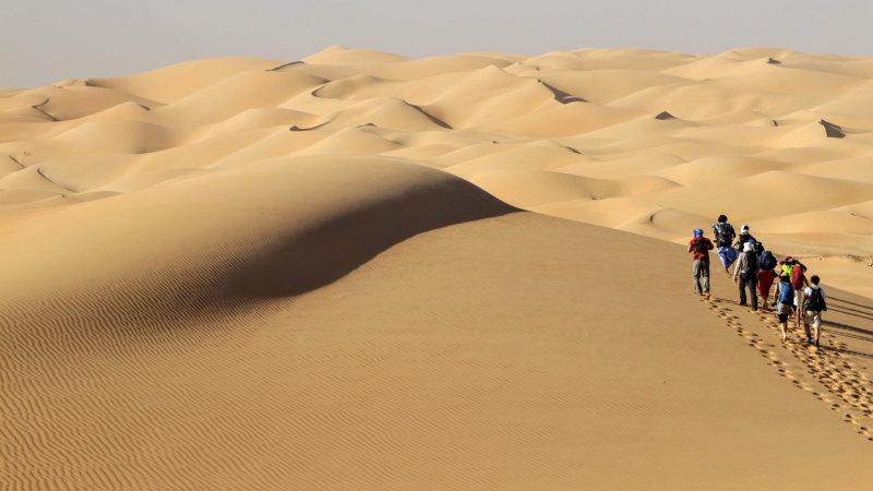 Mauritanie Trek Dans Le Desert Des Deserts Espaces