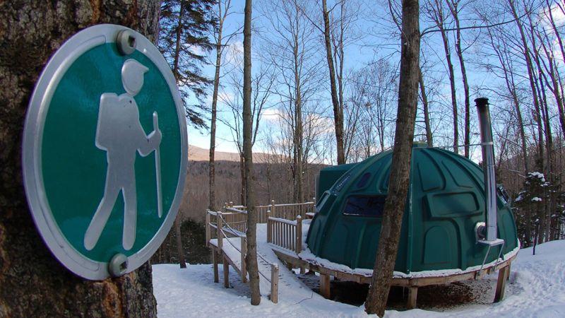 Espaces h bergement dix endroits originaux o dormir cet hiver - Endroit ou dormir gratuitement ...