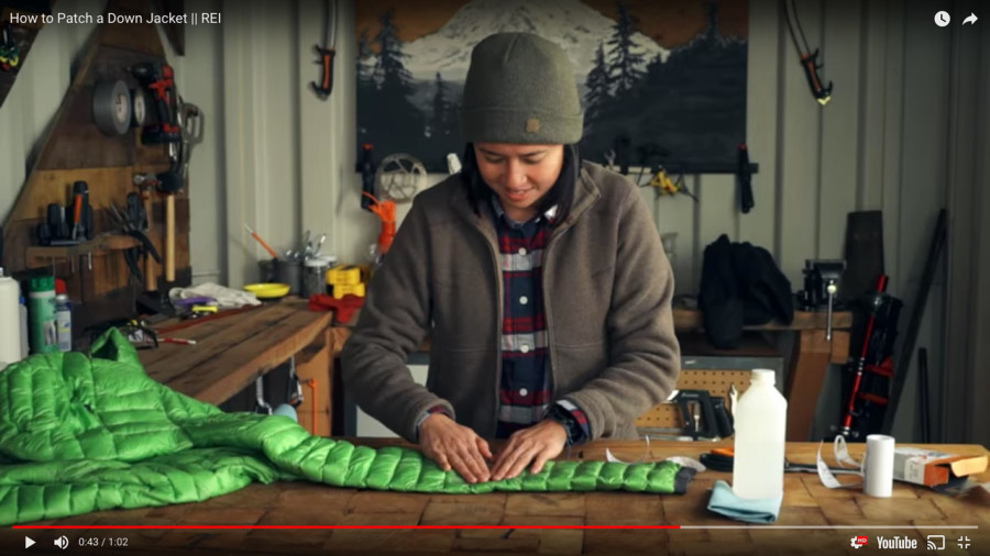 Vidéo : Comment réparer son manteau en duvet
