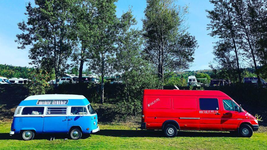 Louez un van aménagé au départ de Montréal