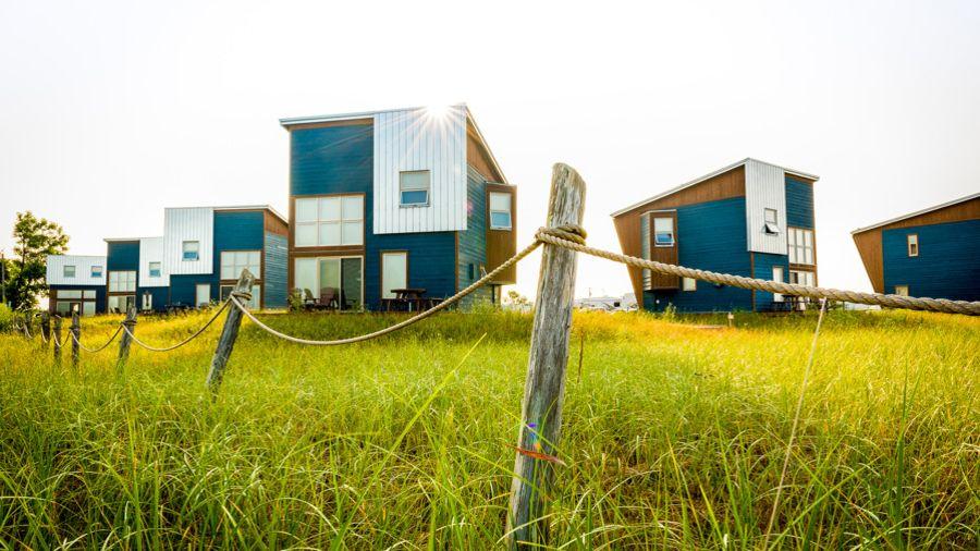 Hébergements en nature : 4 lofts sur mer