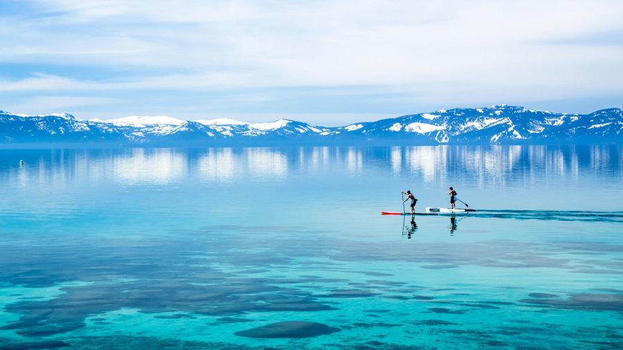 Nevada : Pagayer et randonner au lac Tahoe