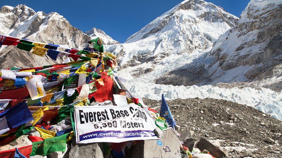 22 jeunes Québécois au pied de l'Everest