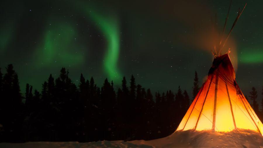 Au cœur de l'hiver autochtone