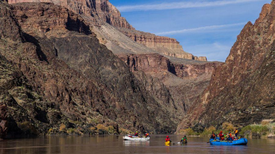 25 jours sur le fleuve Colorado