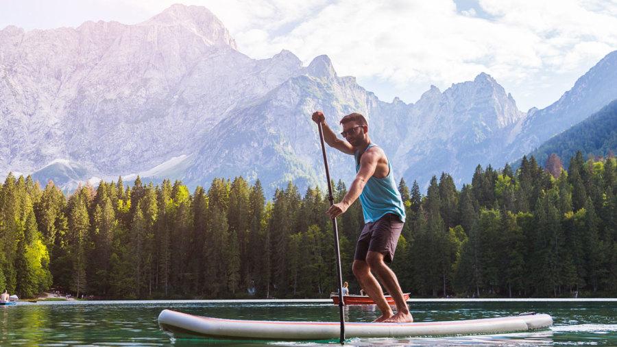 Planche à pagaie : 5 paradis autour du monde
