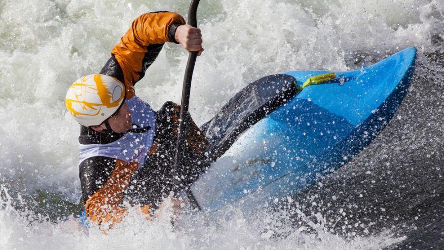 Kayak d'eau vive: Rivière Basse-Cachée