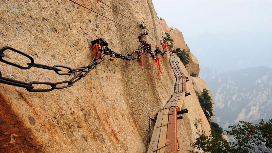 Rendez-vous avec le danger : Mont Huashan