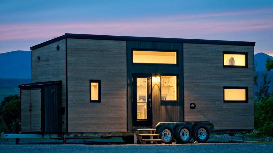 Emménagez dans une mini-maison sur roues