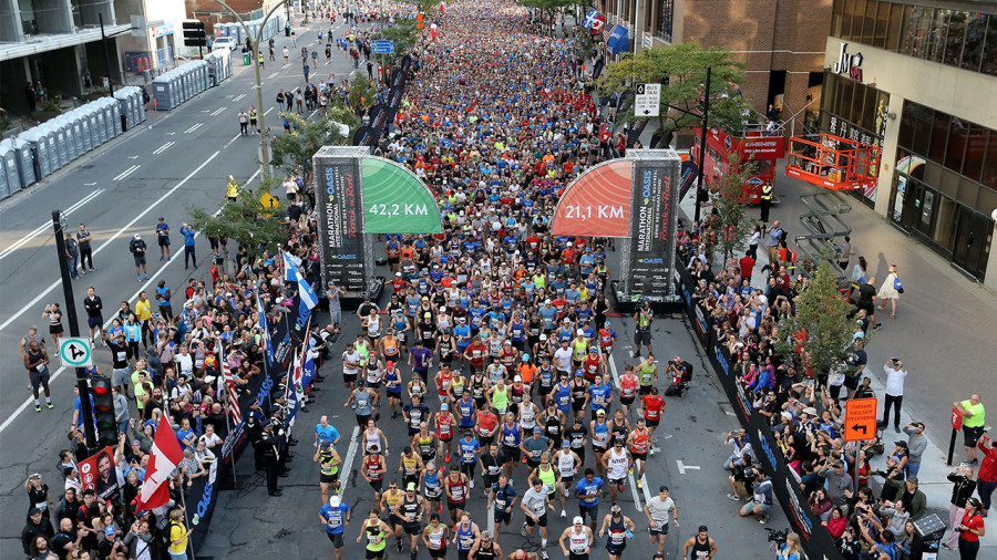 Une nouvelle organisation pour le prochain Marathon de Montréal