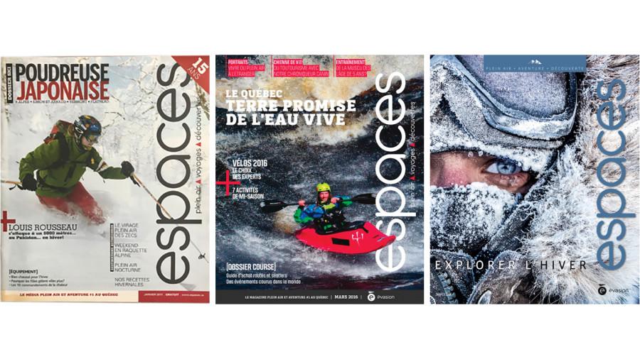 Les 25 ans du magazine Espaces