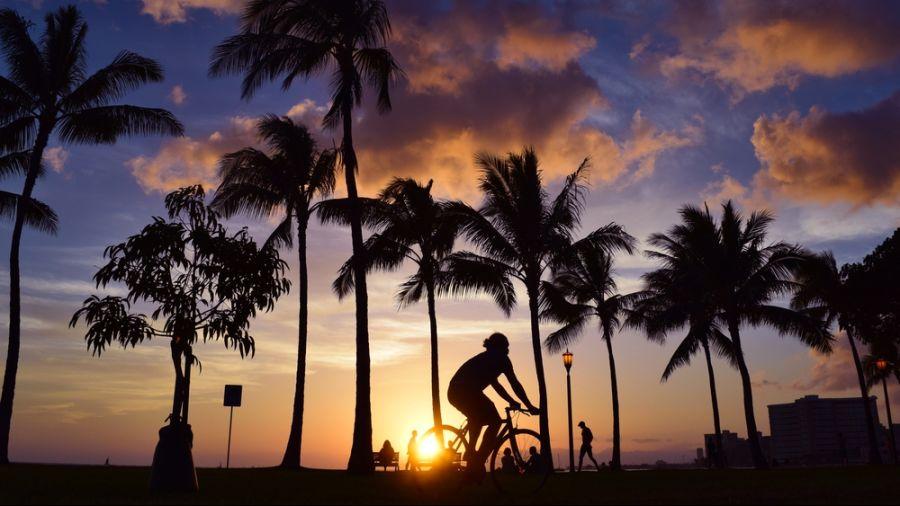 Hawaï : Le tour de l'île à vélo
