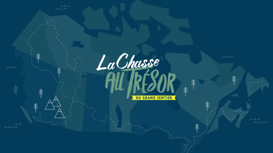 Une chasse au trésor sur le plus long sentier de rando au Canada