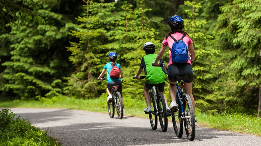 Vacances à vélo : Le P'tit Train du Nord
