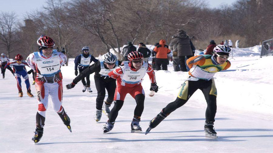 Pour se défoncer cet hiver : Pentathlon des neiges